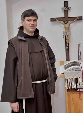 Telšių vyskupijos nuotr./Vyskupas nominatas Genadijus Linas Vodopjanovas OFM
