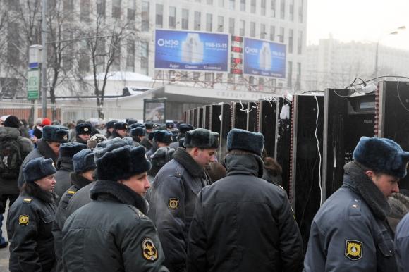 Rusijos policininkai