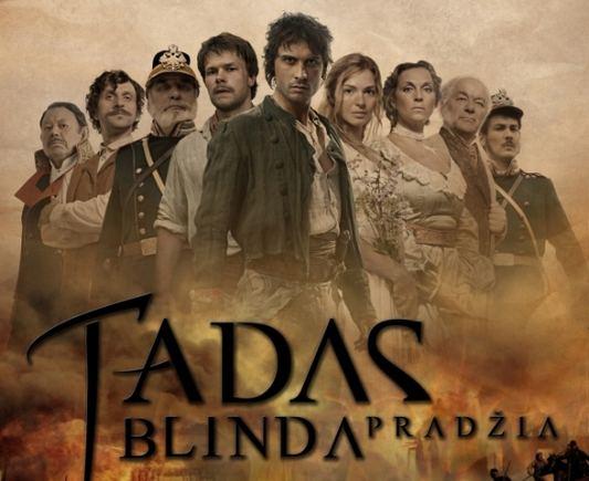 """Tadasblinda.lt nuotr./Filmo """"Tadas Blinda. Pradžia"""" plakatas"""
