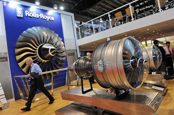 """""""Rolls Royce"""" varikliai lėktuvams"""