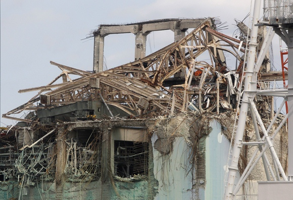 Fukušimos-1 atominės elektrinės 3-iojo reaktoriaus pastatas