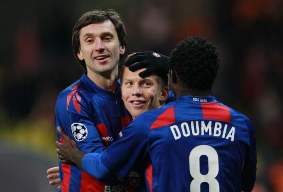 RIA Novosti/Scanpix nuotr./Deividas Šemberas (kairėje) tiki CSKA sėkme