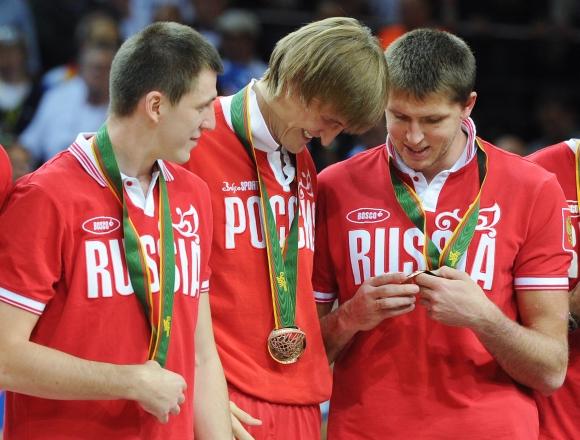 Rusijos krepšinio rinktinė Europos čempionate Lietuvoje iškovojo bronzą