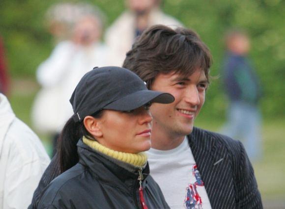 Butauto Barausko nuotr./Aistė Pilvelytė ir Vladas Motieka (2006 m.)