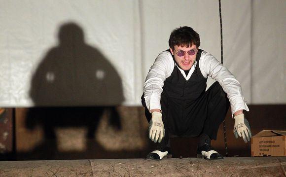 Irmanto Gelūno/15min.lt nuotr./No Theatre premjeros Mr.Fluxus arba `arlatanai? pristatymas