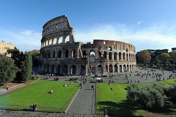 AFP/Scanpix nuotr./Koliziejus Romoje