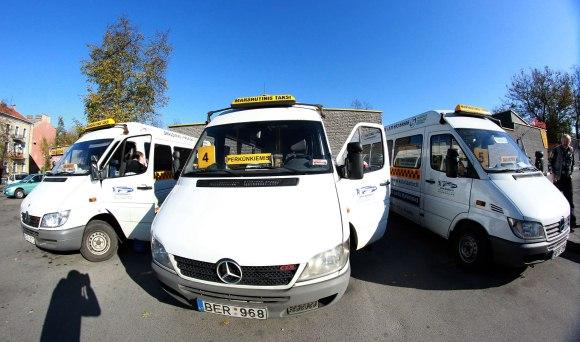 4 maršruto mikroautobusai į Perkūnkiemį nebevažiuos.