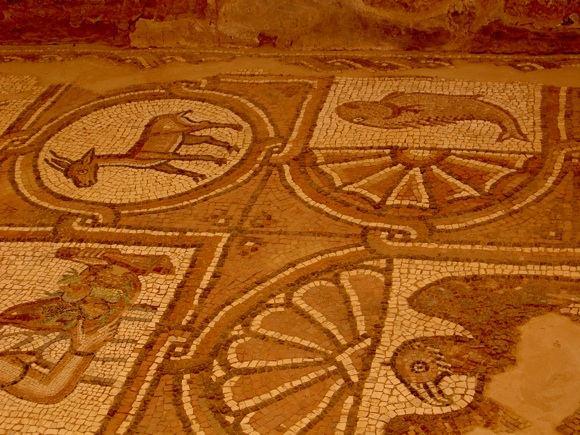 M.Jankutės nuotr./Mozaika. Krikačioniakosios Bizantijos laikų palikimas
