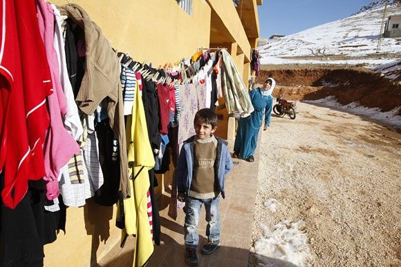 Sirijos pabėgėliai Libane