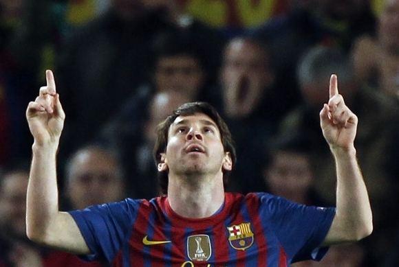 Reuters/Scanpix nuotr./Lionelis Messi