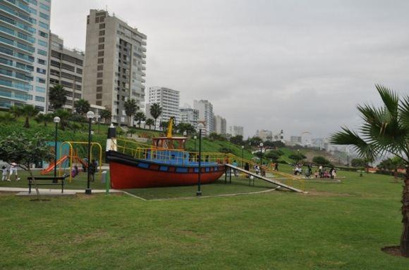 Parkas vandenyno pakrantėje
