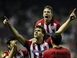 AFP/Scanpix nuotr./Fernando Llorente su komandos draugais džiaugiasi įvarčiu