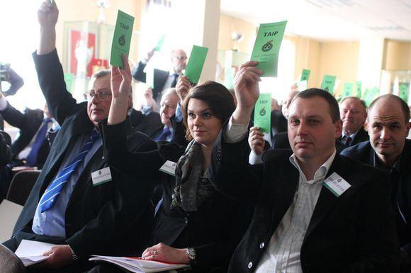 V.Knyzelio/LFF.lt nuotr./Balsavimas