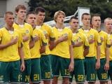 V.Knyzelio/LFF.lt nuotr./Lietuvos U-17 (1995 m. gimimo) rinktinė
