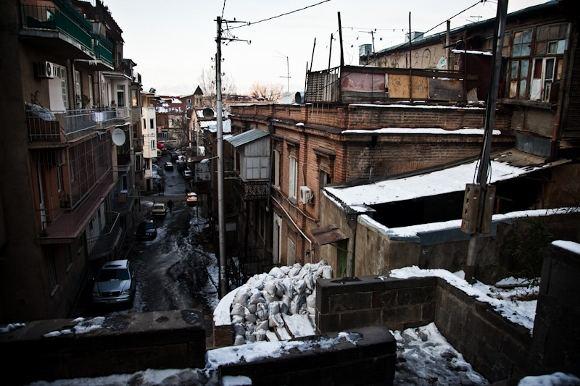 B.Tilmantaitės nuotr./Tbilisio senamiestis