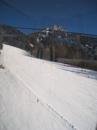 Martyno B. nuotr. /Kronplatz slidinėjimo kurortas Italijoje