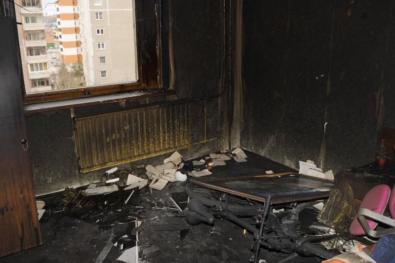 Išdegęs butas Kaune, Šilainiuose