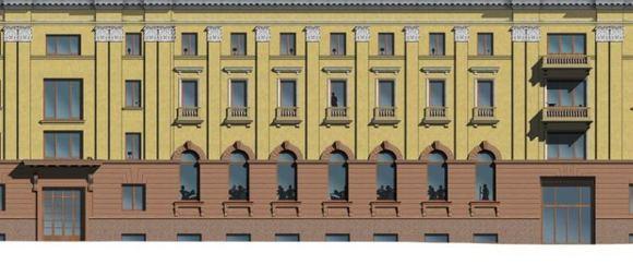 Pamario restauratoriaus nuotr./Vieabučio fasadas ia N. Sodo gatvės atrodys atai taip.