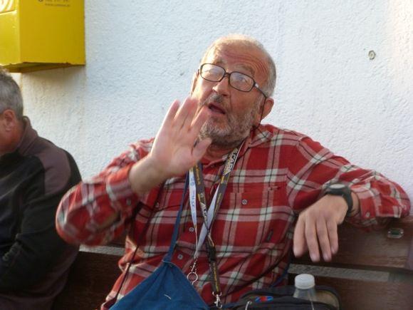 E.Garnelytės nuotr./Gestų kalba anekantis Fabrizio. Kitą rytą nurūko kaip raketa ir tiek jį tebemačiau.