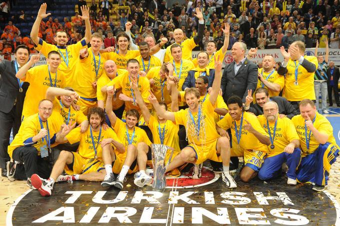 AFP/Scanpix nuotr./Chimki laimėjo Europos taurę