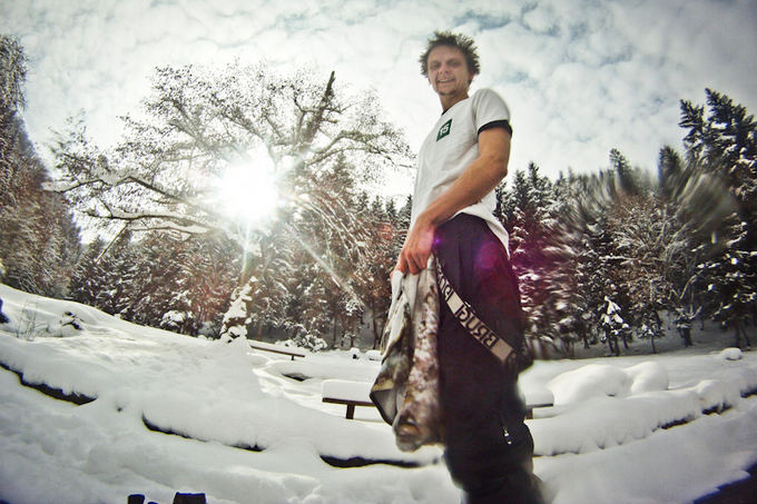 B.Tilmantaitės nuotr./Maudynės ailtame mineralinių vandenų baseine žiemą