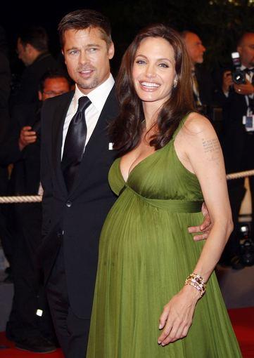 AFP/Scanpix nuotr./Bradas Pittas ir Angelina Jolie (2008 m.)