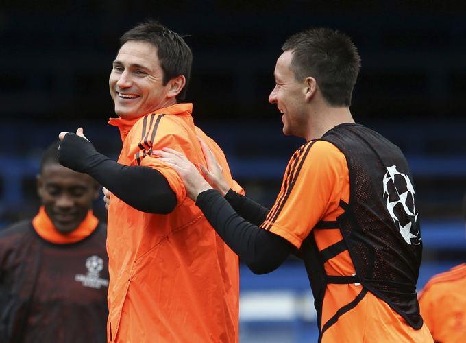 Reuters/Scanpix nuotr./Frankas Lampardas ir Johnas Terry