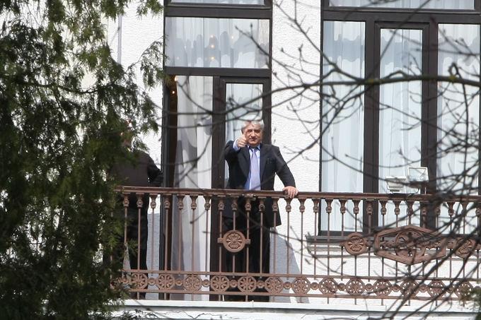 Juliaus Kalinsko/15 minučių nuotr./Prie Rusijos ambasados surengta protesto akcija