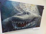 Deniso Lopatino karikatūra/Krokodilo aaaros irgi sudomino slaptąsias tarnybas.