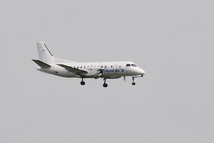"""""""Estonian Air"""" orlaivis leidžiasi Vilniuje"""