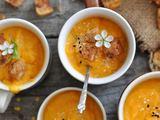 Tinklaraatis Duonos ir žaidimų/morkų, lęaių ir apelsinu sriuba