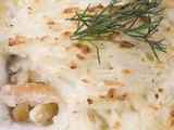 Shutterstock nuotr./Bulvių pyragas su laaiaa