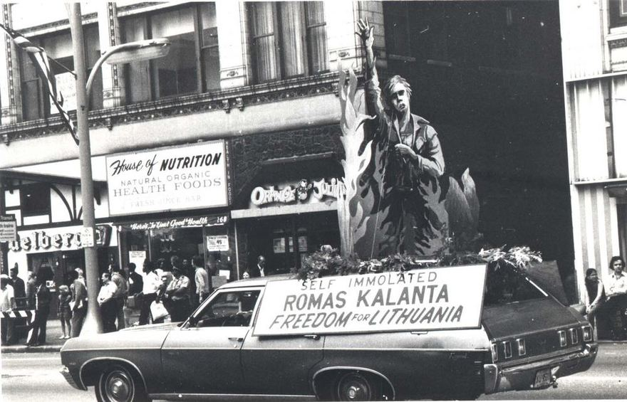 VDU Lietuvių iaeivijos instituto nuotr. /1972-ųjų įvykiai sulaukė didelio atgarsio ir už Atlanto.