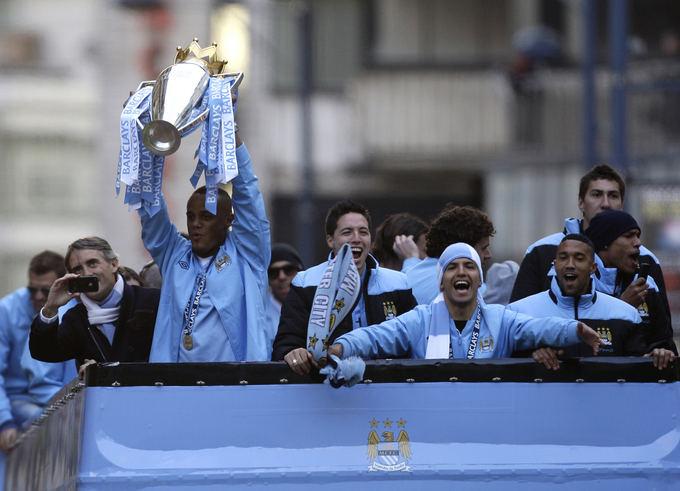AP/Scanpix nuotr./Manchester City ekipa laimėjo praėjusio sezono Anglijos pirmenybes