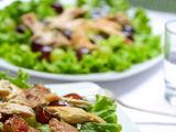 isbandytireceptai.com nuotr. / Vištienos salotos su vynuogėmis