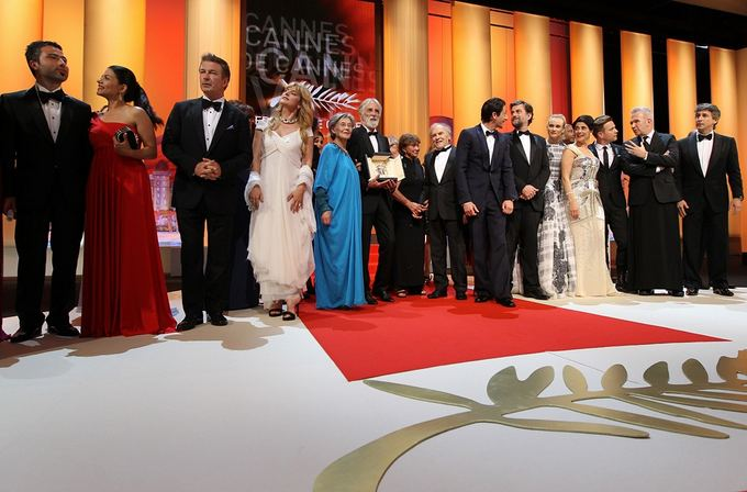 Kanų kino festivalio uždarymo ceremonija