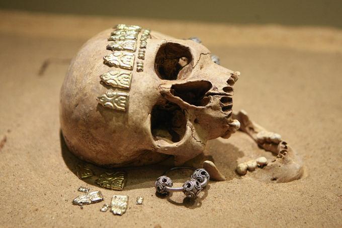 Kernavės archeologinės vietovės muziejaus ekspozicija