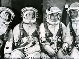 """""""Aviacijos pasaulio"""" archyvo nuotr./Kosmonautas Aleksejus Jelisejevas (antras iš kairės) turi lietuviškų šaknų."""