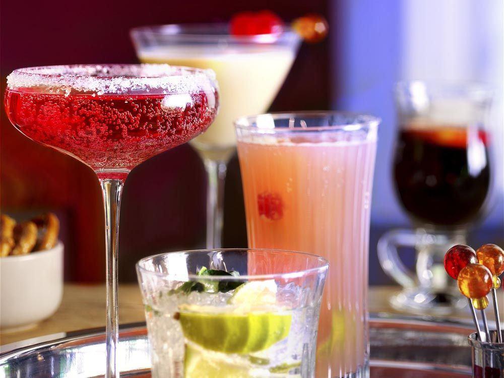 geriausi kokteiliai gėrimai svorio q10 svorio metimas