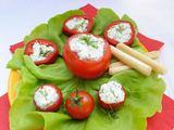 Fotolia nuotr./Įdaryti pomidorai