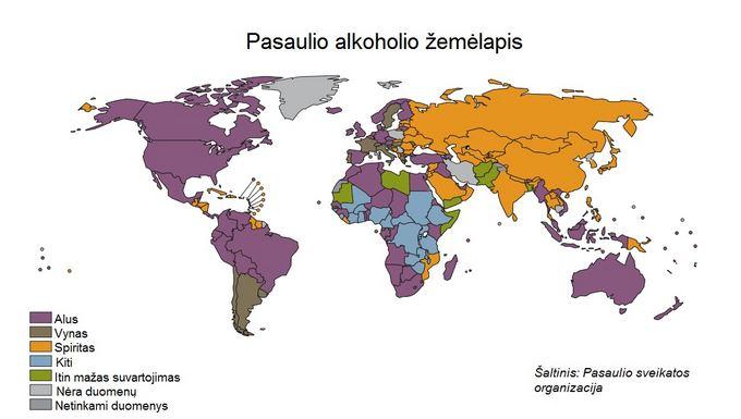 PSO vizualizacija/Alkoholio suvartojimas