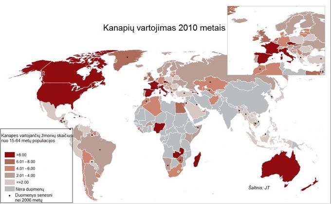 JT vizualizacija/Kanapių suvartojimas