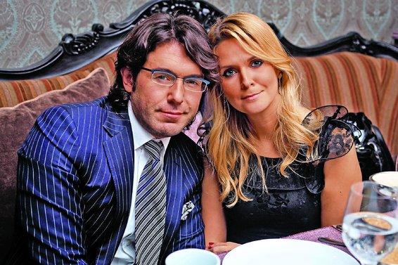Андрей Малахов с супругой.
