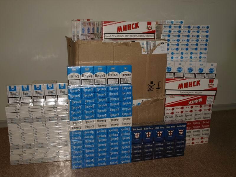 Iš ukmergiškio konfiskuotos cigaretės