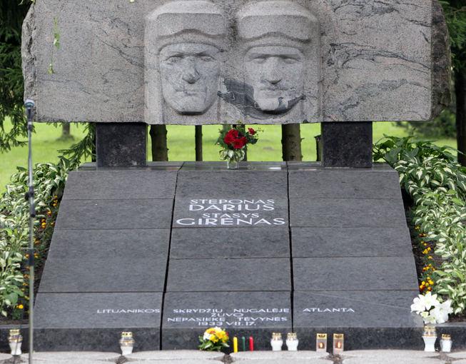 Monument for Darius and Girėnas in Kaunas