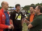 Kadras iš vaizdo siužeto/Pokalbis su Deividu Jociumi, Martynu Samsonu ir Mindaugu Varža