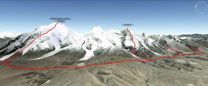 Ekspedicijos dalyvių nuotr./Mararuto schema