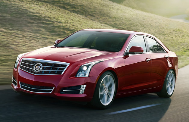 Naujasis Cadillac ATS