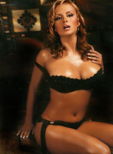 Фото из журналов Maxim и Playboy/Анна Семенович