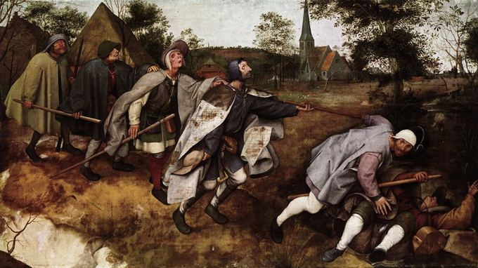 The Blind Leading the Blind, by Pieter Bruegel the Elder